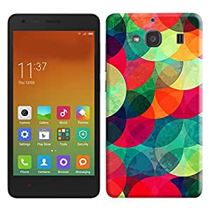 Theskinmantra Circles back cover for Xiaomi Redmi 2S