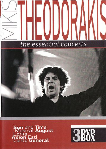 Mikis Theodorakis - The essential concerts (3DVD BOX SET / PAL)