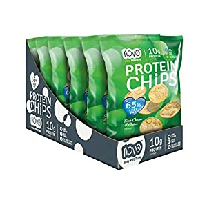 Novo Protein Chips - 6 x 30g (Sour Cream and Onion)