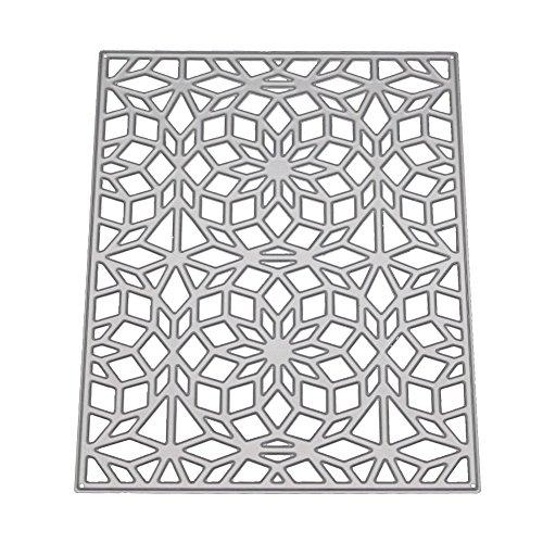 SULIFOU furnitureanddecor Neue Blumen Herz aus Metall Schablonen DIY Scrapbooking Album Papier Karte -