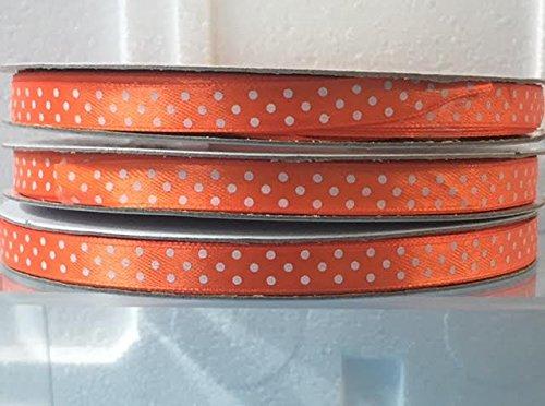 nastro-doppio-raso-a-pois-arancione-10-mm-x-50-mt