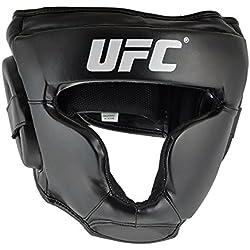 UFC Kopfschutz Headguard - Casco de artes marciales, color negro, talla XL