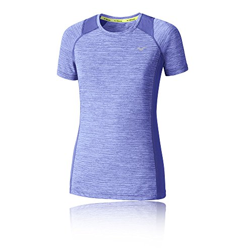 Mizuno Womens Alpha Course À Pied T-Shirt - AW17 purple