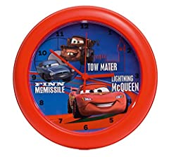 Idea Regalo - Disney Orologio a muro Cars 2