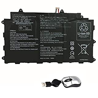 AMSB6|#Amsahr FPCBP415-05 Replacement Battery for FUJITSU FPCBP415, CP678530-01 Series, CP67853001, FPB0310, FPCBP415 - Includes Mini Optical Mouse ()