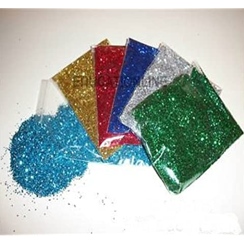 EDUCATIONLINE ricarica di glitter colori assortiti