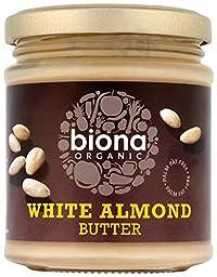 Biona Organic White Almond Butter, 170g