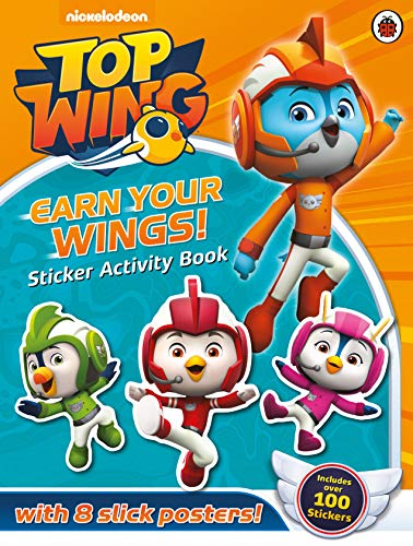 Top Wing: Earn Your Wings!: Sticker Activity Book por Top Wing