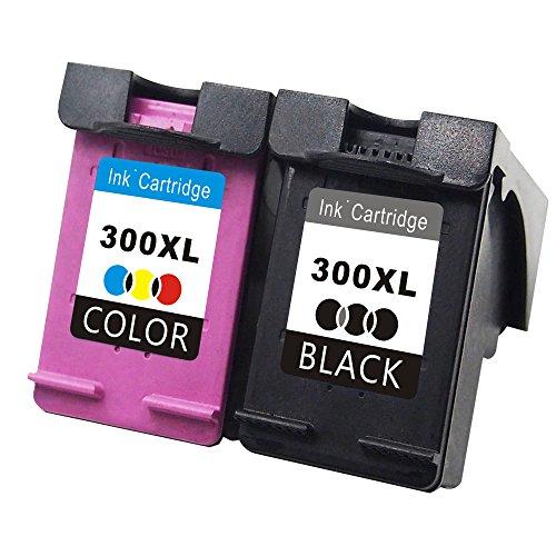 TooTwo 300XL Druckerpatronen Ersatz für HP 300 XL(1x Schwarz, 1x Farbe) Tintenpatronen komptibel für HP Deskjet D1600 D1660 D1663 D2500 D2530 D2545 D2560 D2563 D2566 D2600 D2645 D2660 D2663 D2666