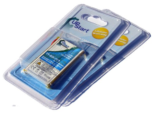 Preisvergleich Produktbild 2er Pack Ersatz TomTom tt-go-720Akku für TomTom Go 520, Go 530, Go 530LIVE, GO 630, GO 720, GO 730, GO 730T, GO 930, GO 930T GPS Navigators (1300mAh, 3,7V, Lithium-Ionen)