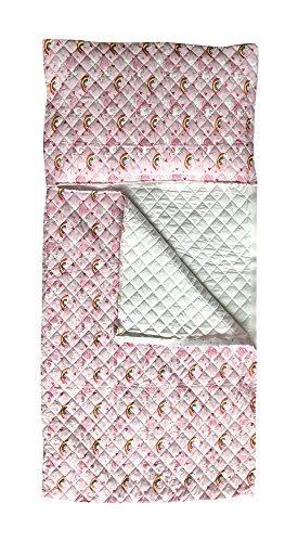 Gigoteuse pour garçon et fille, différents motifs et couleurs, pour enfants de 2à 6ans, tissu matelassé 100% coton, fabriqué en Italie Unicorni e Arcobaleni Rosa
