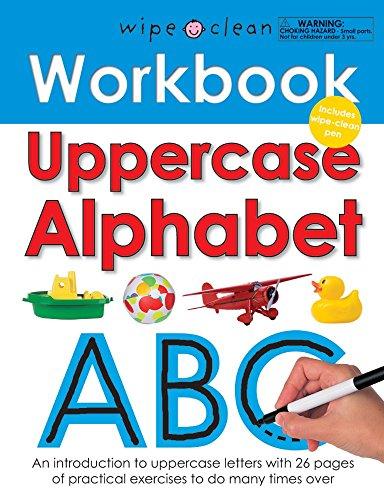 Uppercase Alphabet (Wipe Clean Workbooks) por Roger Priddy