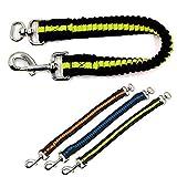 Ploopy Ruckdämpfer für Hunde Leine angenehm, elastische Hundeleine | Perfekte Dämpfung beim Fahrrad | Elastisch beim Laufen & Fahrradfahren | Als Kit für Laufleine, Gummileine