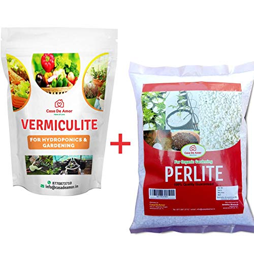 Casa De Amor Perlite and Vermiculite Combo Growing Media for Organic Gardening