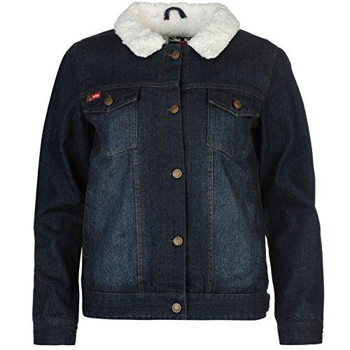 lee-cooper-damen-denim-jacke-warm-jeansjacke-fleece-gefuettert-brusttaschen-mid-blau-10-s