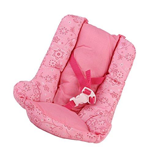 Unbekannt Sharplace Mini Puppenzubehör Kindersitz Sitzkissen mit Gürtel Für 18 Zoll Amerikanisches Mädchen Puppe - Puppen Für Mädchen 18