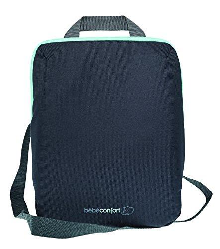 Bébé confort borsa termica porta biberon e porta pasto con comoda maniglia per fissaggio, borsa termica con due scomparti, colore nero
