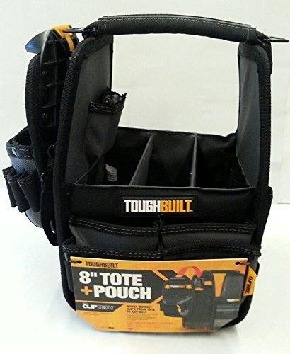 TOUGHBUILT TOU-CTTP-01108A - CARTUCHERA PARA HERRAMIENTAS (TAMAñO: 8 PULGADAS)