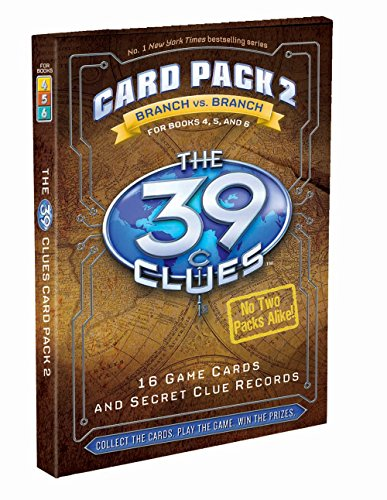 39 Clues Card Pack 2 (The 39 Clues) by Inc. Scholastic (2-Jun-2009) Cards