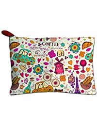 Printelligent Gift For Girlfriend || Gift For Wife || Gift For Girl || Gift For Women || Canvas Zipper Pouch |...