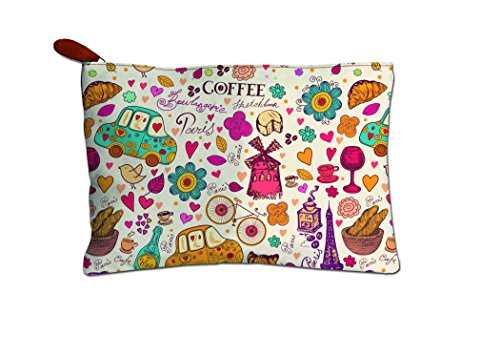 Printelligent Gift for Girlfriend || Gift for Wife || Gift for Girl || Gift For Women || Canvas zipper pouch || Travel case || Stationery pouch || Money pouch || Wallet
