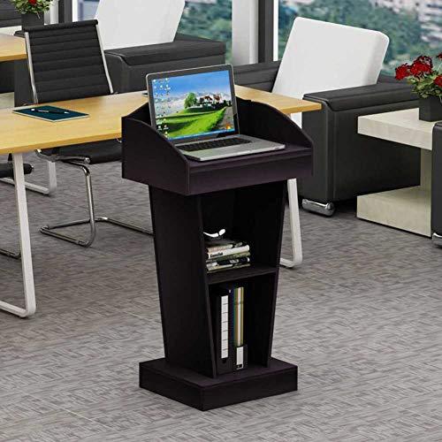 (SQINAA Rednerpult aufstehen,Improvisierten Podium Workstation Laptop Notebook Computer Stehen für die Schule Das unternehmen Tagungsraum-B 60x40x103cm(24x16x41))