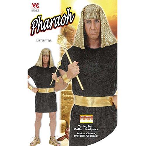 Amakando Pharaokostüm Ägypten König Faschingskostüm L 52 Pharaonen Königskostüm Ägyptischer Pharao Kostüm Karnevalskostüme Herren Antike Königsgewand Ramses Götterkostüm