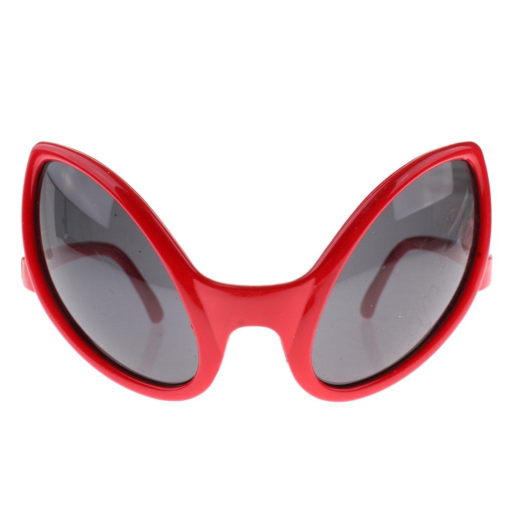 Sharplace Noveda Gafas de Sol Marciano para Fiesta Traje de Actuación Disfraces