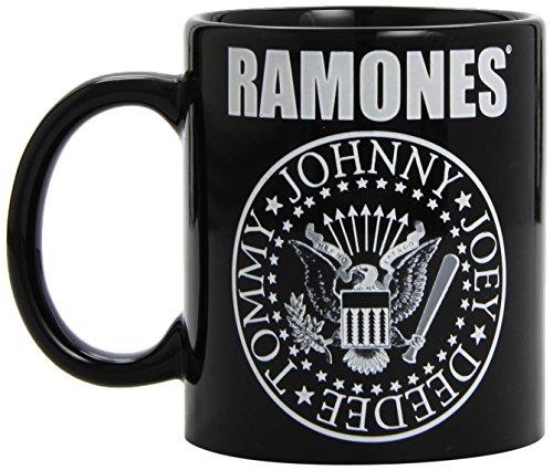 (Ramones - Presidential Seal - Tasse schwarz in Geschenkkarton)