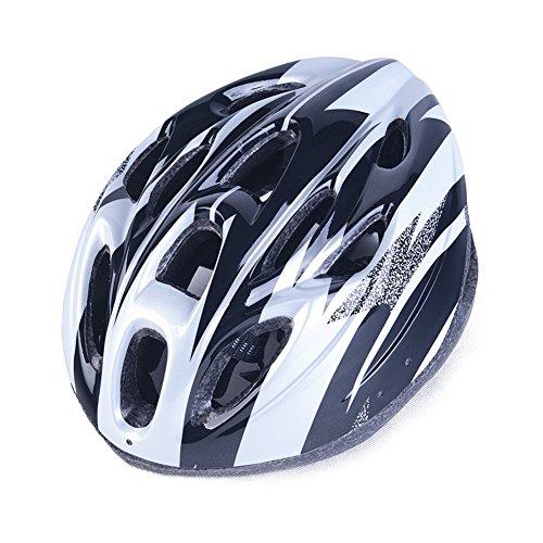 CDSS Helm, Fahrradhelm Reithelm Autobahnhelm Outdoor-Sportausrüstung, white