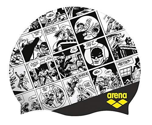 arena WB Superheros Silikon-Badekappe Batman (Silikon Badekappe Für Frauen)