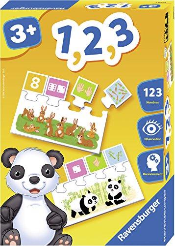 Ravensburger 1, 2, 3 Niño Niño/niña - Juegos educativos (2, 3, 190 mm, 280 mm, 60 mm, Caja, Puzzles)