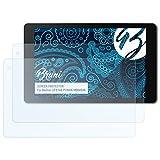 Bruni Schutzfolie für Medion LIFETAB P10606 (MD60526) Folie - 2 x glasklare Displayschutzfolie