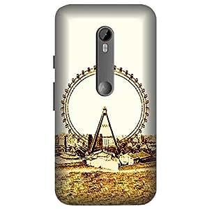 Skintice Designer Back Cover with direct 3D sublimation printing for Motorola Moto G 3rd Gen
