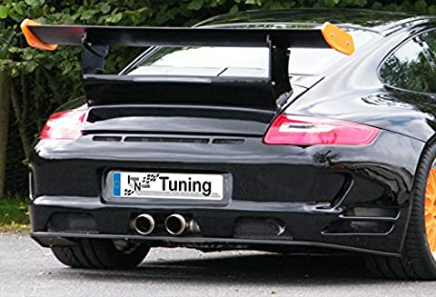 Ingo Noak Tuning Heckstoßstange Race , Endrohraustritt mittig INF-930046B