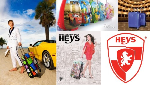 ... 50% SALE ... PREMIUM DESIGNER Hartschalen Koffer - Heys Künstler Limon Under the Sun - Trolley mit 4 Rollen Gross Under the Sun