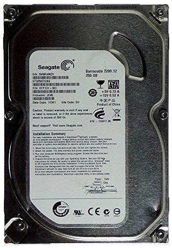 Seagate ST3250312AS, 9YP131 Barracuda 3,5 Zoll, 250GB Festplatte HDD, BULK -