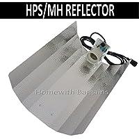Hammerschlag Reflektor E40 Fassung vormontiert für NDL MH ESL  250 600 400W Grow