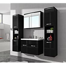 Badmöbel schwarz  Suchergebnis auf Amazon.de für: Badezimmermöbel in Schwarz
