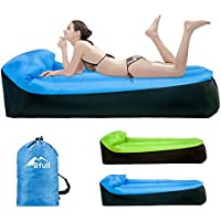 BFULL Inflatable Lounger Air Beach Sofa with Carry Bag,Inflatable Couch Air Beds by for Indoor/Outdoor Camping,Beach,Swimming Pools,Park,Tent,Garden,Travelling, 6-10 Hours of Inflation Time