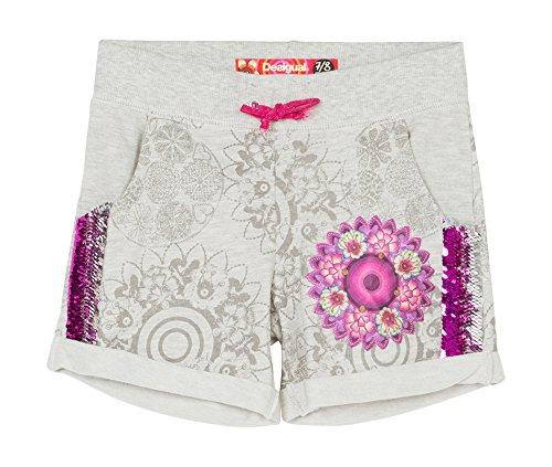 Desigual Mallard-Shorts Bambina    White (Blanco Mistico) 13 Anni