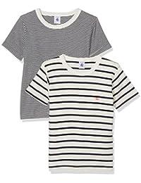 Petit Bateau T-shirt Mc_23733 - Tricots de peau - Garçon
