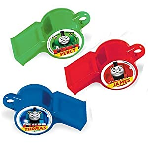Amscan 398331 Thomas and Friends Whistles Toy