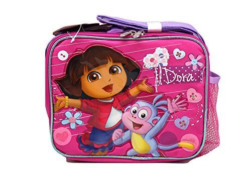 Pink Dora the Explorer and Boots Lunch Bag by Nickelodeon - Dora Lunch Bag
