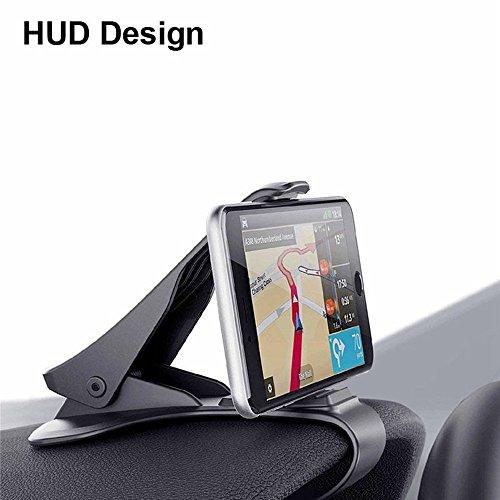 Support Téléphone Voiture Universel Brainwizz HUD - Fixation sur Tableau de Bord - pour iPhone 7, iPhone 6, et autres Smartphones