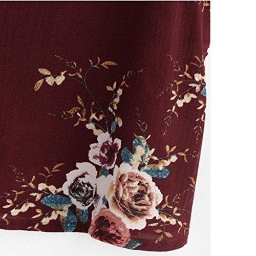 Tefamore Femmes Débardeurs Fleur Embroidered Strappy Cami Top E-Rough-1