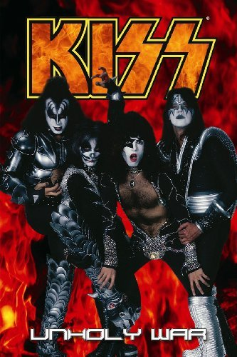 Kiss Volume 4: Unholy War by Mike Baron (2004-03-16)