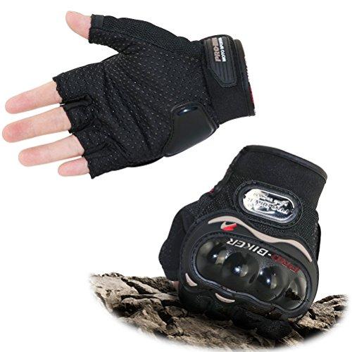 Fitam Motorradhandschuhe, Handschuhe für Motorrad Racing, ATV Reiten, Klettern, Wandern und andere Outdoor Sport - M/L/XL (Motorrad-lenker-handschuhe)