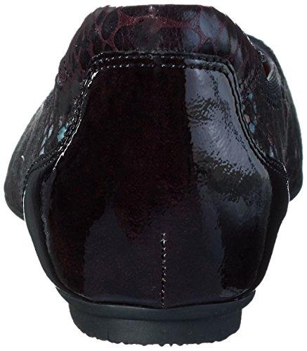 Tamaris 22101, Ballerine Donna Rosso (BORDEAUX COMB 550)