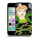 Head Case Designs Offizielle Amanda Laurel Atkins Blaue Lagune Ladies 2 Ruckseite Hülle für iPhone 5c